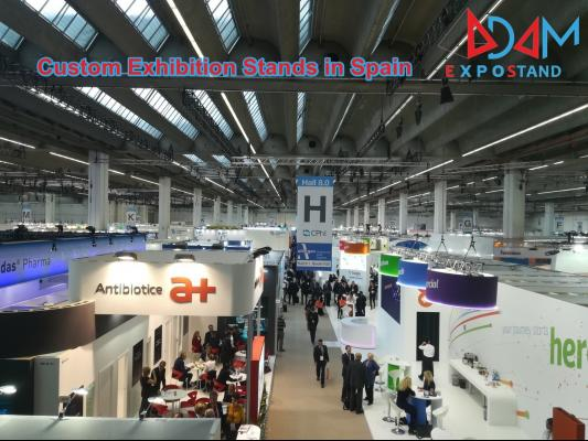 Custom Exhibition Stands in Spain