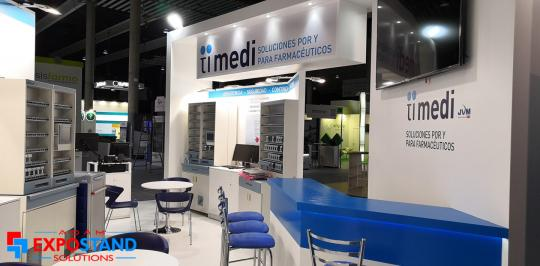 exhibition stands design Fira Barcelona