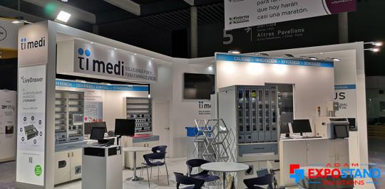 exhibition stand builders Fira Barcelona