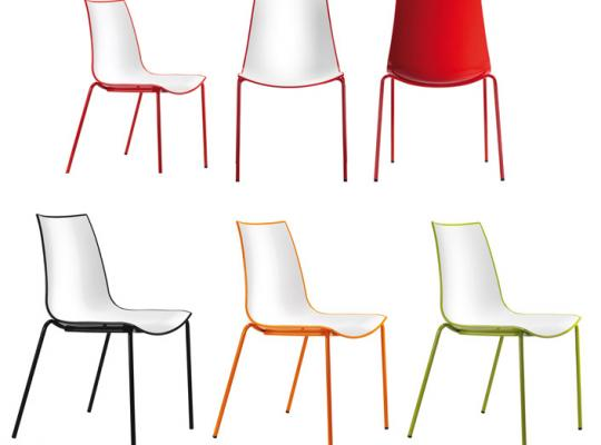 Silla 3D color (Pedrali)