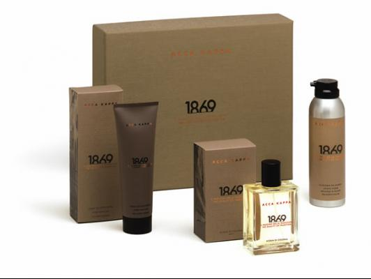 Pack gift Acca Kappa 1869 perfume, after shave, espuma afeitar