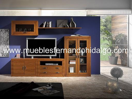 Mueble salon pino macizo muebles electrodom sticos arganda del pictures to pin on pinterest - Muebles cerne catalogo ...