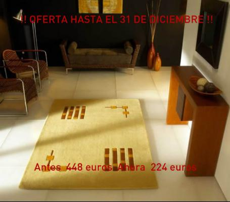 Alfombra Gold - Carving