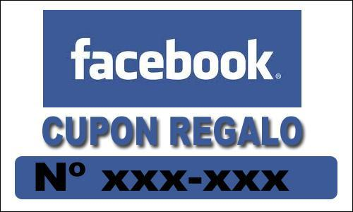 CUPON REGALO FACEBOOK
