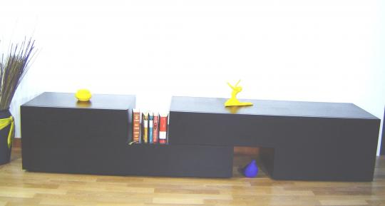 Mueble a medida transformable