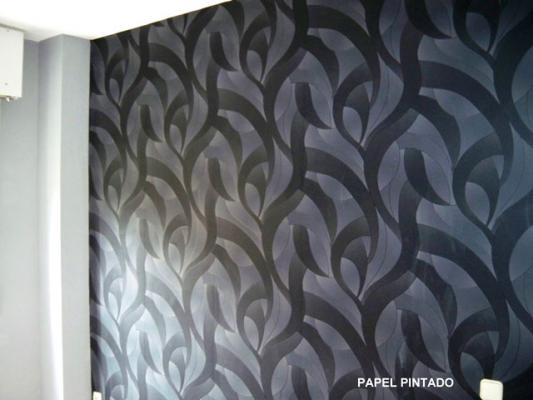 Papel pintado for Papel pintado salon