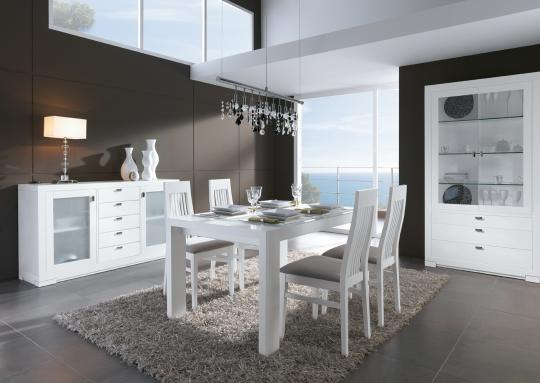 Comedor en color blanco 45024