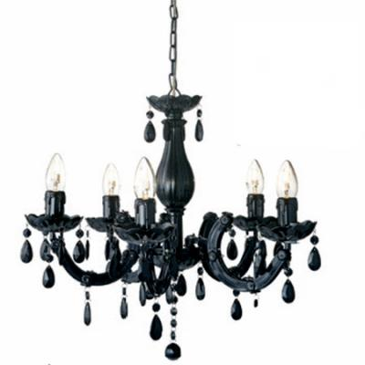 Lámpara Chandelier negra