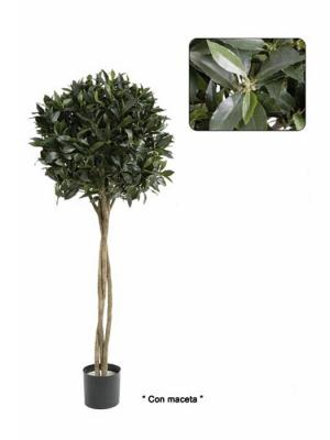 Laurel artificial de calidad. Arbol topiary laurel artificial oasisdecor.com