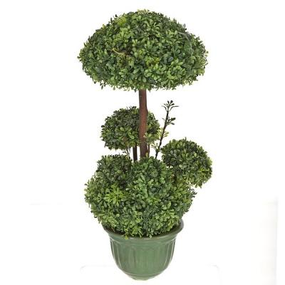 Plantas artificiales. Bonsai artificial topiary 6 bolas 38 en lallimona.com