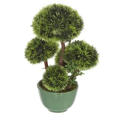 Plantas artificiales. Bonsai artificial topiary 5 bolas 20 en lallimona.com