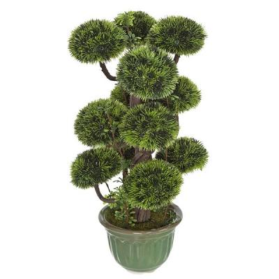Plantas artificiales. Bonsai artificial topiary 12 bolas 35 en lallimona.com