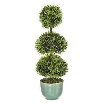 Plantas artificiales. Bonsai artificial topiary 3 bolas 20 en lallimona.com