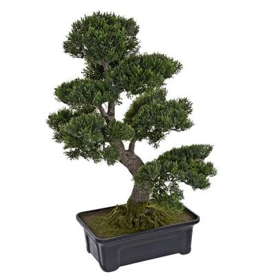 Plantas artificiales. Bonsai artificial cedro 65 en lallimona.com
