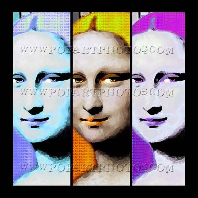 Monalisa Pop Art Photos
