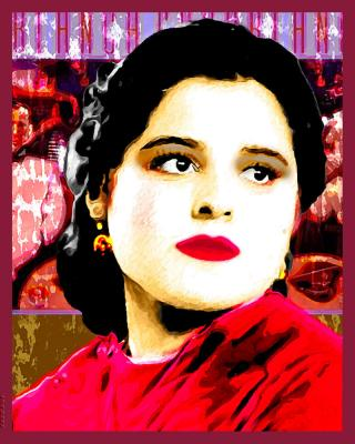 Retrato Pop Art Photos Fondo Fantas�a