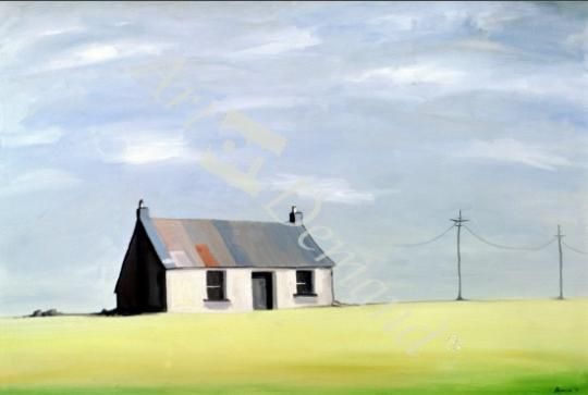 l�minas y lienzos de  This Old House (oil on canvas)
