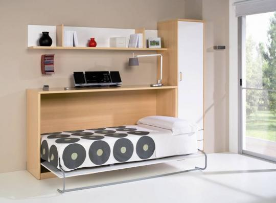 cama plegable horizontal