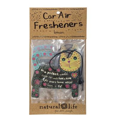 Natural Life ambientador coche gato im a perfect world lemon en La Llimona (2)