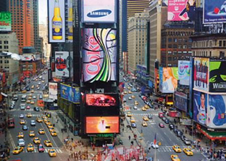 Cuadro con Bastidor Times Square, New York City