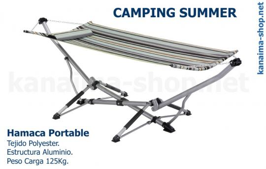 Hamaca Portable CAMPING SUMMER