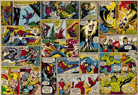 Fotomural de Pared Marvel Comics, Collage