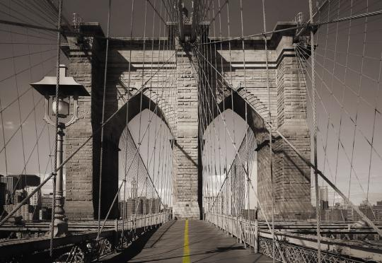Fotomural de Pared WALKWAY - PUENTE BROOKLYN NEW YORK