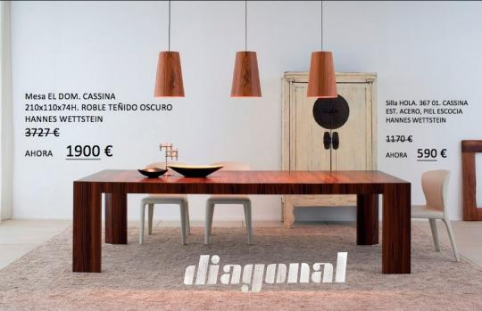 Cat logo y ofertas de diagonal dise o 85 for Outlet muebles valladolid