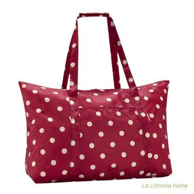 Reisenthel bolsa multiusos mini maxi shopper ruby dots - La Llimona