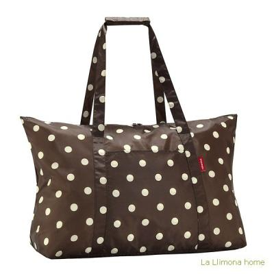 Reisenthel bolsa multiusos mini maxi shopper mocha dots - La Llimona