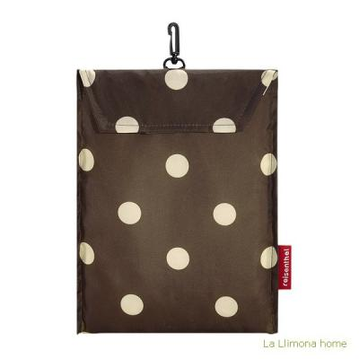 Reisenthel bolsa multiusos mini maxi shopper mocha dots 1 - La Llimona