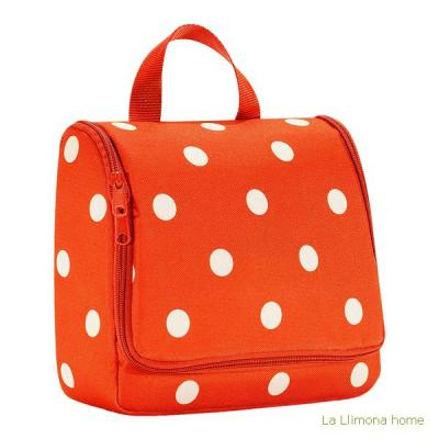 Reisenthel neceser bag carrot dots - La Llimona