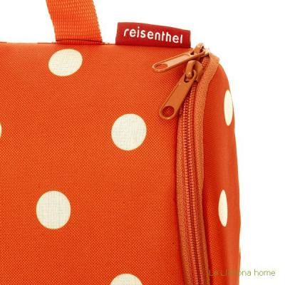 Reisenthel neceser bag carrot dots 1 - La Llimona
