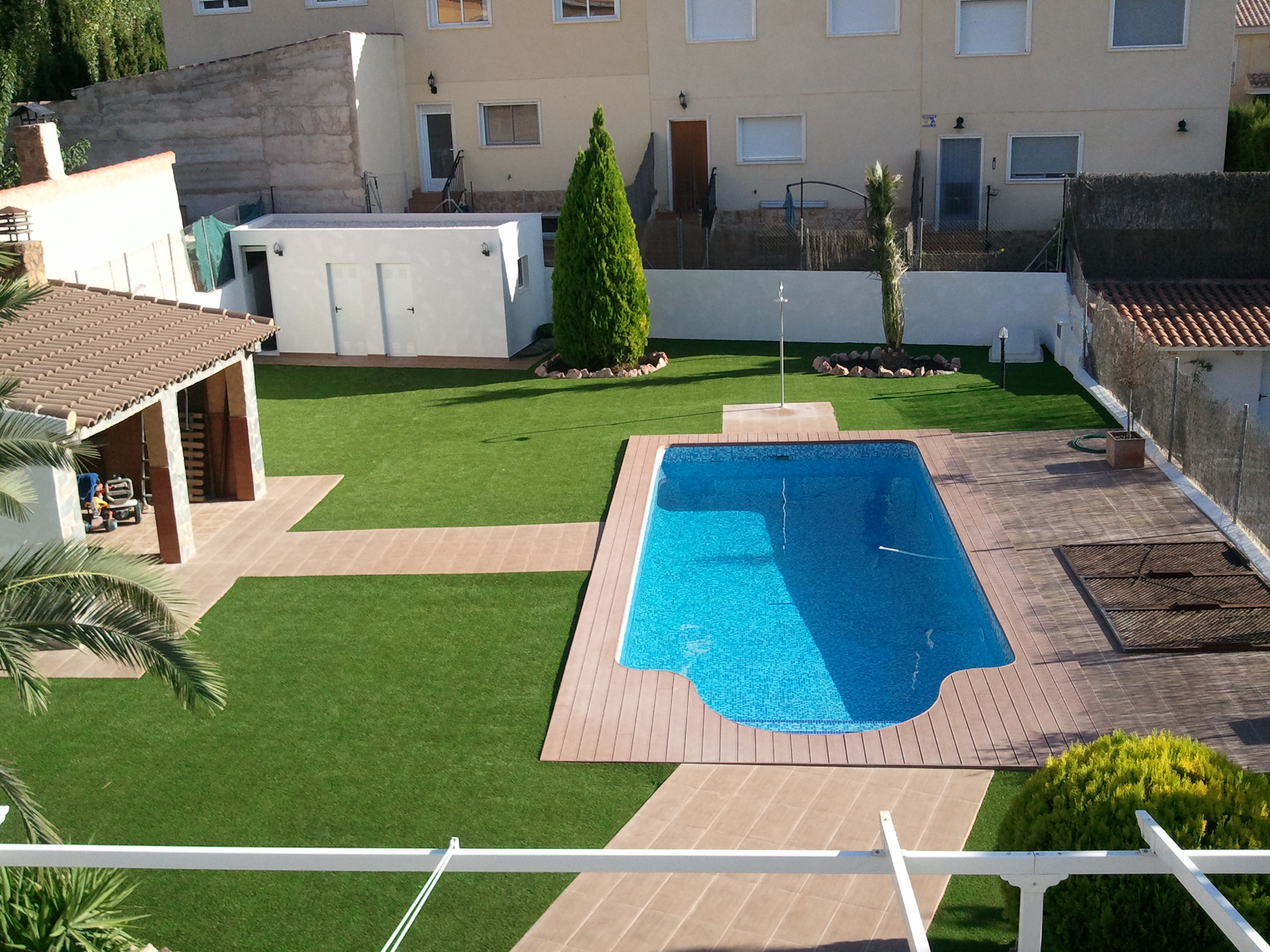 Construccion piscina y exterior 81648 for Construccion piscinas zaragoza