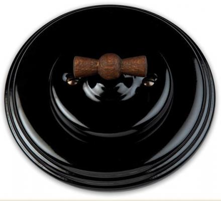 Garby Colonial - Black porcelain
