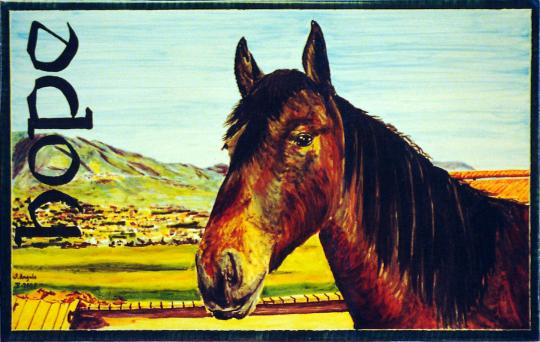 Retrato de Caballo Hope