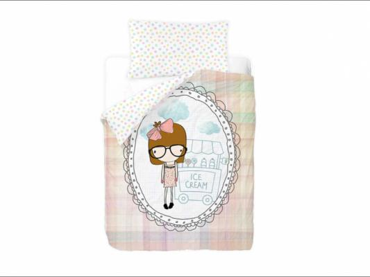 Funda n�rdica infantil Miss Ice Cream. Gamanatura.