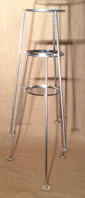 Pie cubitera apilable, inox