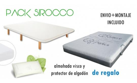 Pack Descanso Sirocco