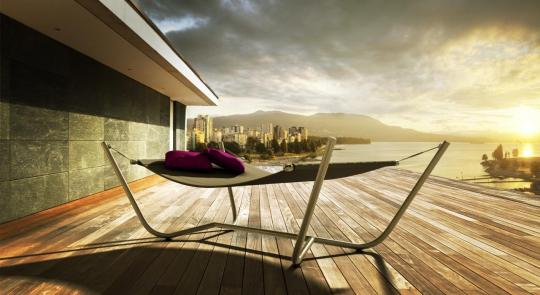 SKYbed, hamaca doble o individual