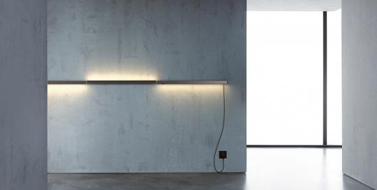 Luminaria de pared orientable LED
